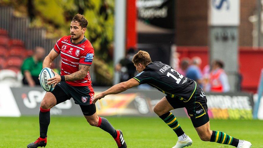 Désigné meilleur joueur du championnat, à la fois par ses pairs et par le jury des Premiership Rugby Awards, Danny Cipriani, ici ballon en main, parviendra-t-il à peser sur le sort de la demi-finale face aux ogres des Saracens ?