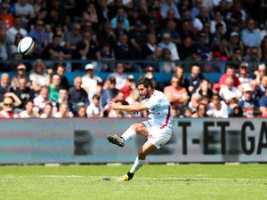 Maxime Machenaud (Racing 92) contre Agen