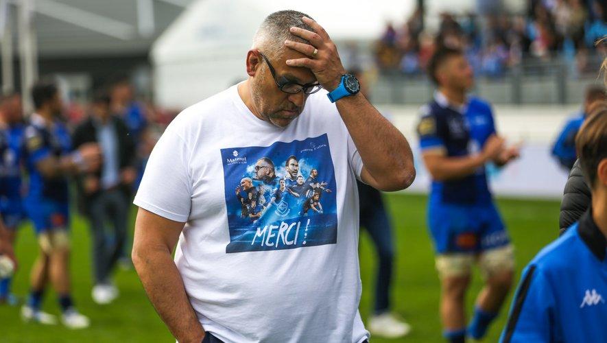 Christophe Urios (Castres) déçu de la défaite contre Toulon