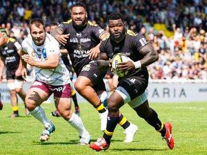 Dany Priso (La Rochelle) contre Bordeaux