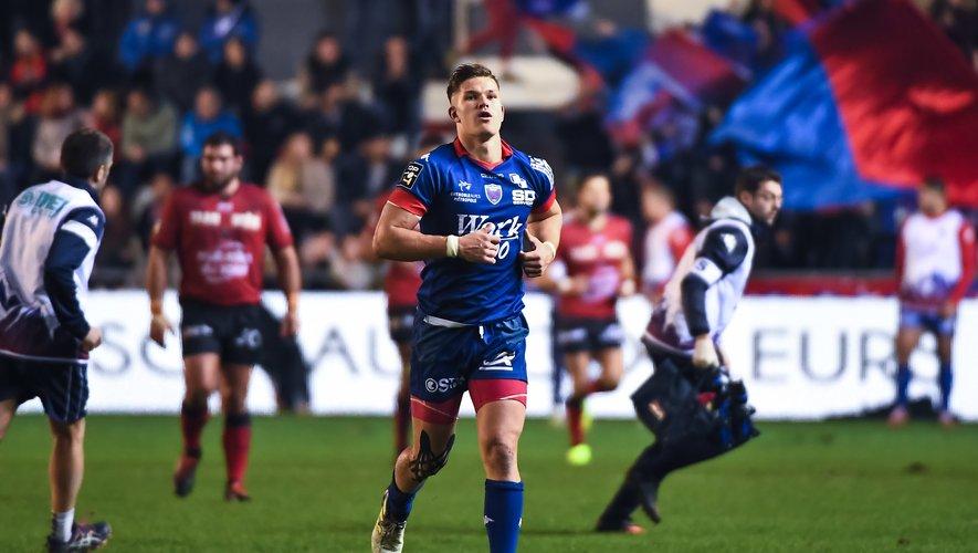 Bastien Guillemin (Grenoble) contre Toulon
