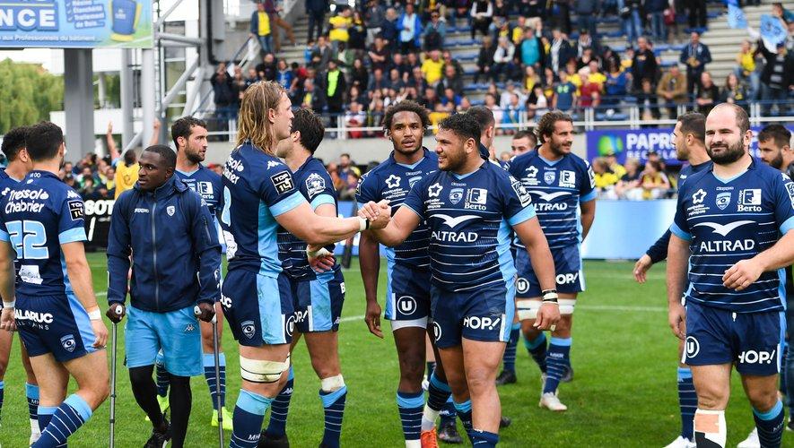 La joie des Montpelliérains après leur victoire à Clermont