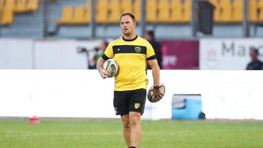 Nicolas Nadau alors entraîneur de Carcassonne