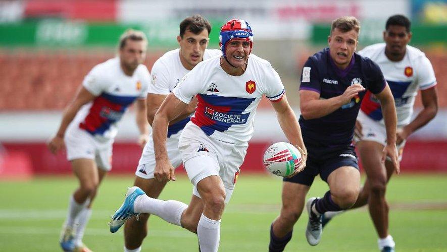 Manoël Dall'igna (France 7) contre l'Écosse