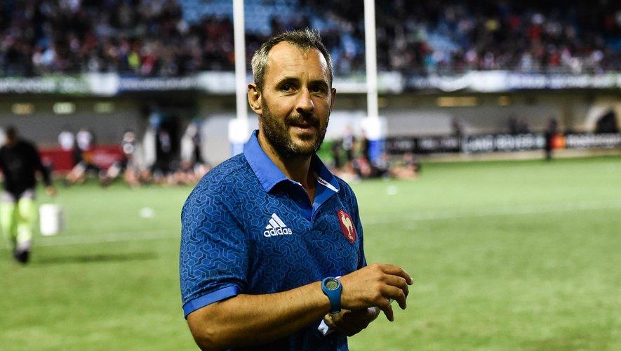 Sébastien Piqueronies (entraîneur de l'équipe de France de moins de 20 ans)