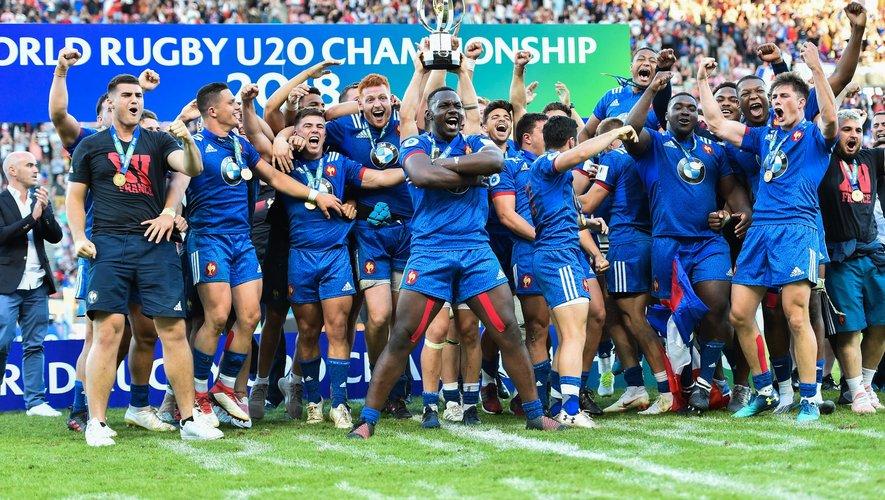 L'équipe de France U20 championne du monde en 2018