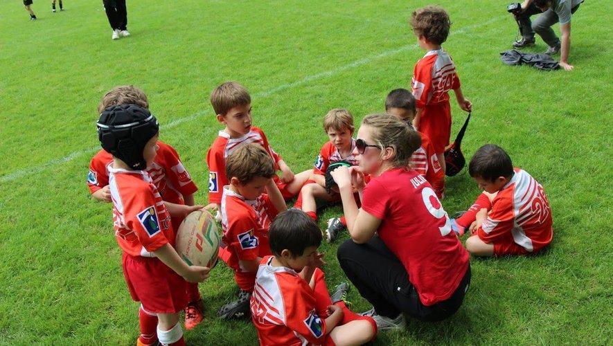 L'ancienne joueuse du TCMS, Julie Falconetti, qui est aussi éducatrice à l'école de rugby de Balma, est l'une des trois pièces maîtresses de la création de la section féminine au BORC.