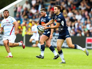 Top 14 - Léo Berdeu (Agen) contre le Racing 92