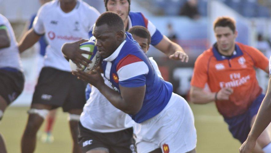 Jordan Joseph (France) contre les Fidji