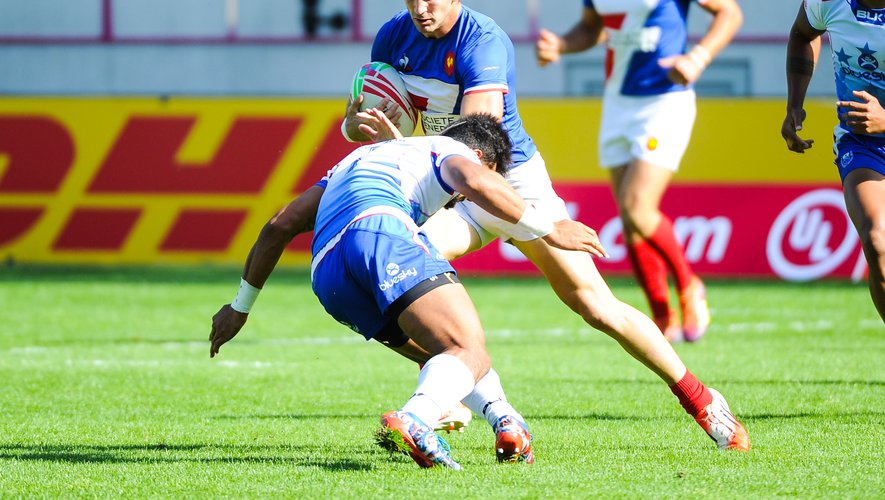 Jean Pascal Barraque (France) contre les Samoa
