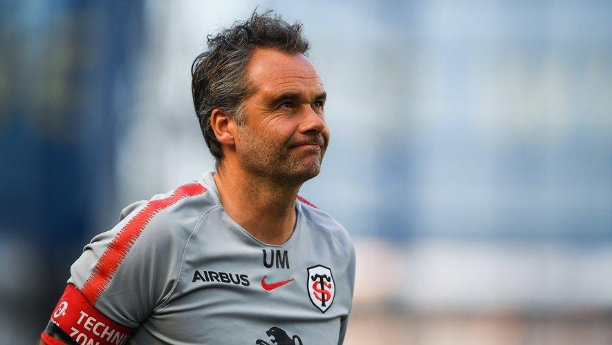 Ugo Mola, entraîneur du Stade toulousain