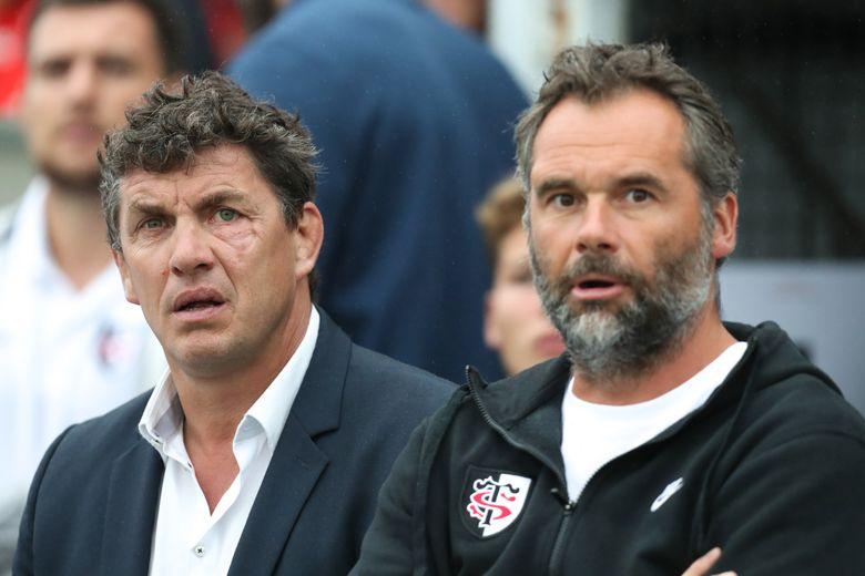 Le président Lacroix et son entraîneur côte à côte