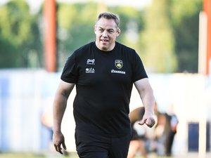 Jono Gibbes, manager ravi après le succès à Colombes