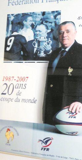 En créant une fondation en faveur des grands blessés du rugby, Albert Ferrasse a accompli l'un des actes les plus significatifs de son exceptionnelle carrière.