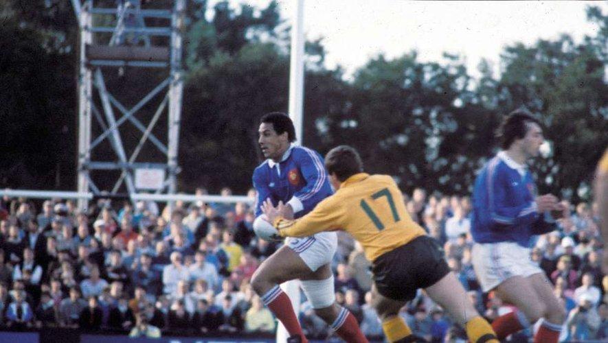 Serge Blanco (France) contre l'Australie en 1987