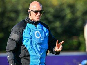 John Mitchell, entraîneur de la défense de l'Angleterre