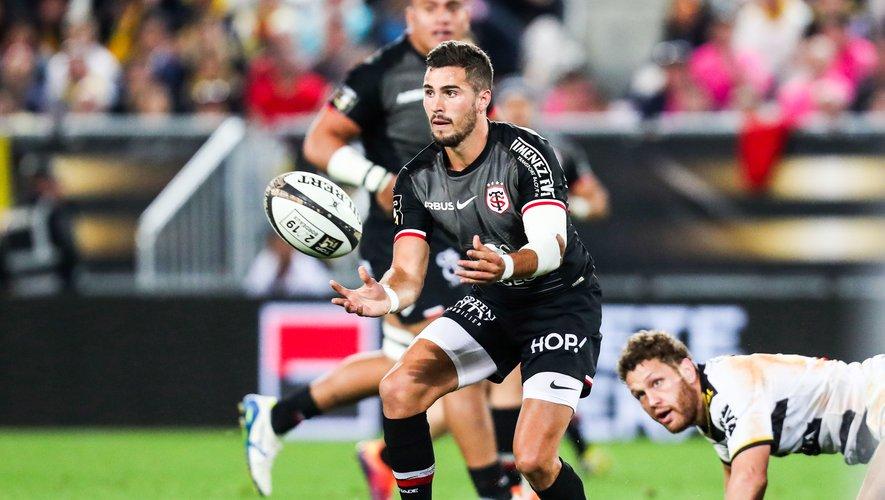 Sébastien Bézy (Toulouse) lors de la demi-finale contre La Rochelle