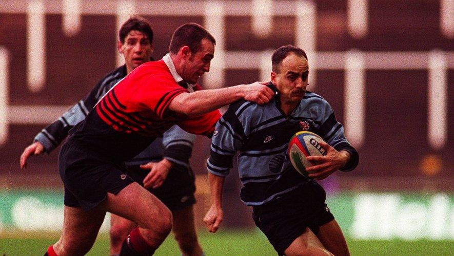 Franck Belot sous les couleurs du Stade toulousain en 1996
