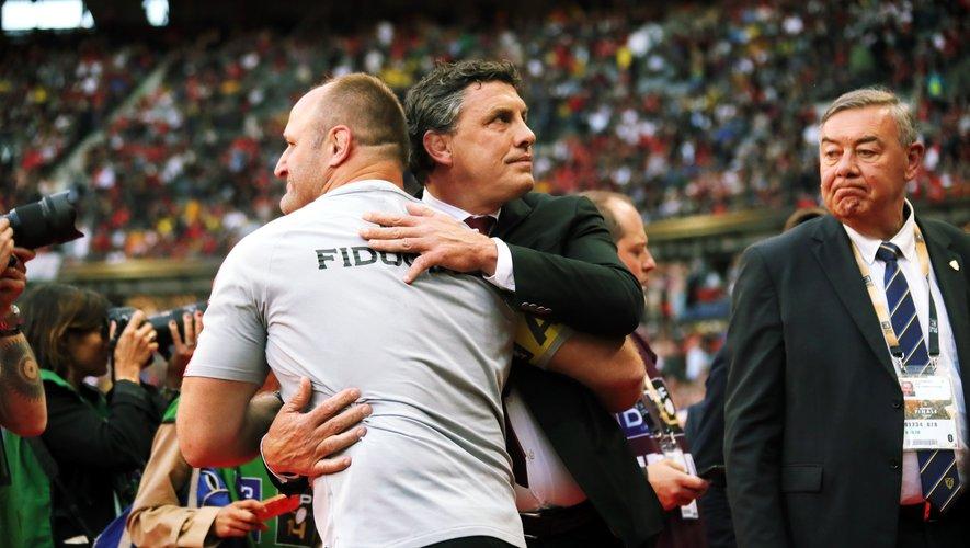 Didier Lacroix s'est dit extrêmement fier de ses joueurs, qui ont su garder l'esprit du club pour remporter un historique vingtième titre