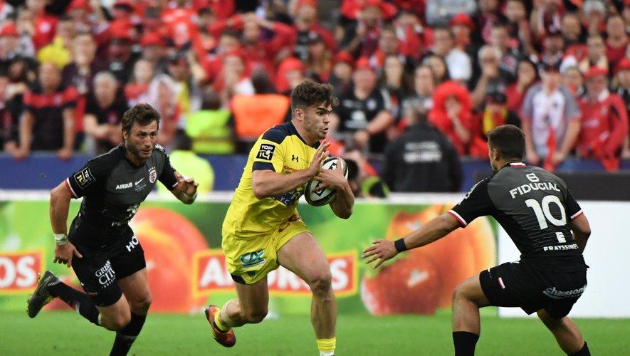 Damian Penaud (Clermont) face à Thomas Ramos (Toulouse)