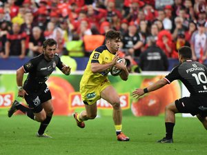 Damian Penaud (Clermont) face à Thomas Ramos (Toulouse)