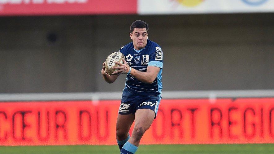 Arthur Vincent (Montpellier) contre Pau