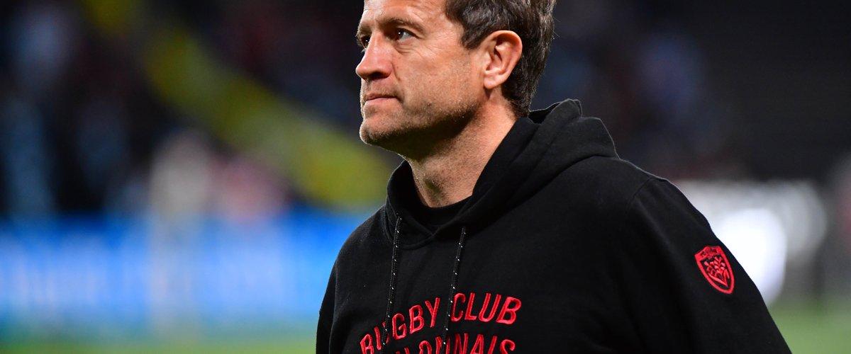 Fabien Galthié alors entraîneur du RC Toulon en 2018