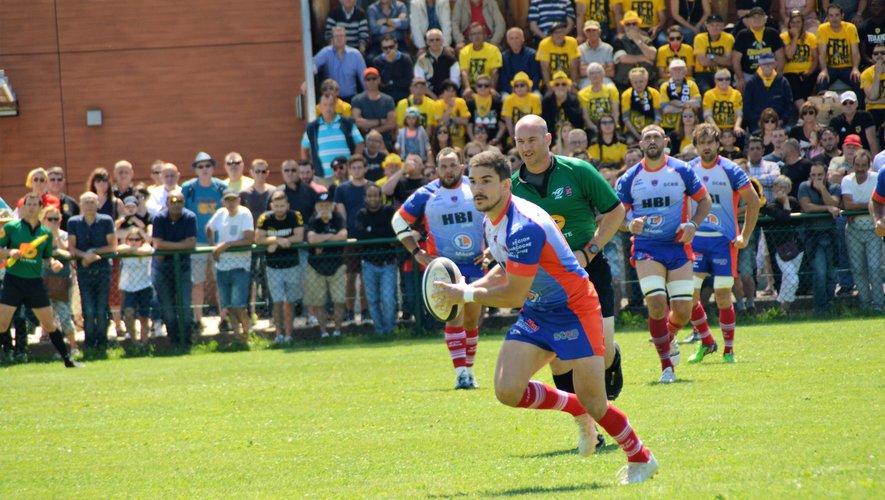 Les Bourguignons et leur ouvreur Brechenmacher se sont qualifiés contre Chambéry au bout des prolongations. Photo DR