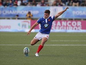 Louis Carbonel (France) en finale du Mondial U20 contre l'Australie