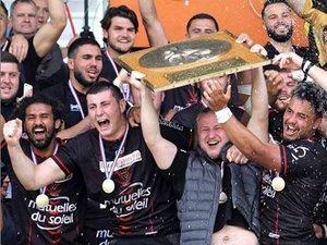 Reichels Espoirs - Les joueurs du RC Toulonnais champions de France 2018-2019