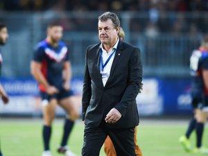Le Président de la Fédération française de rugby à XIII, Marc Palanques, espère que cette journée de finales à Albi soit une belle fête populaire.  Photo DDM Amaël François