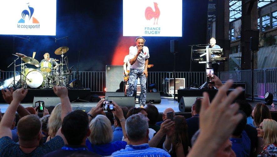 Yannick Noah a lancé en musique le congrès du centenaire de la FFR à Nantes. Photo Isabelle Picarel