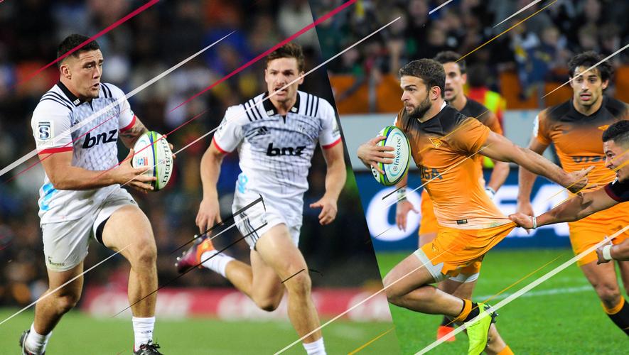 Les Crusaders de Codie Taylor recevront les Jaguares de Ramiro Moyano pour un choc au sommet en finale de Super Rugby. Photos Icon Sport