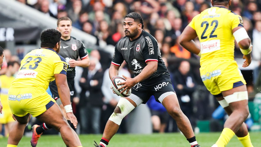 Top 14 - Peato Mauvaka (Toulouse) contre Clermont