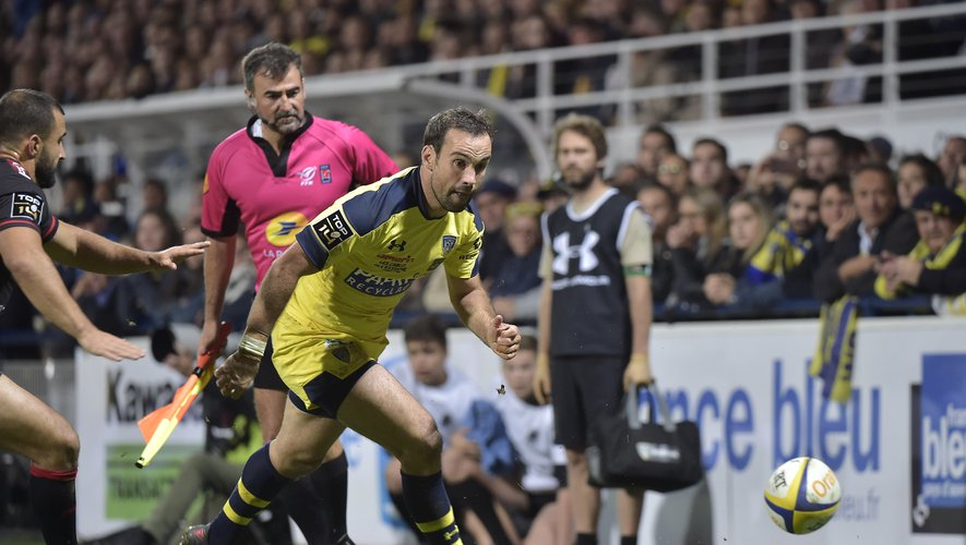 Morgan Parra (Clermont) contre Toulon