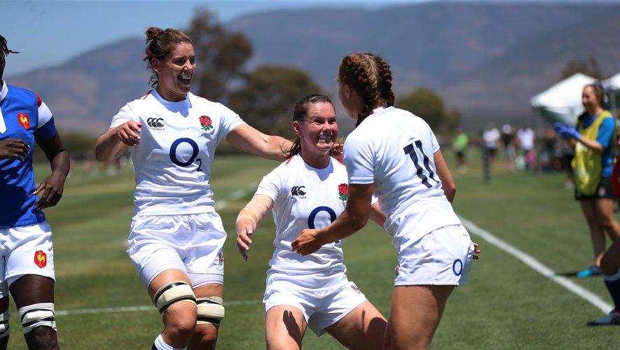 Menées 5 à 18 à la mi-temps, les Anglaises ont réussi à renverser les Françaises lors des Women's Rugby Super Series