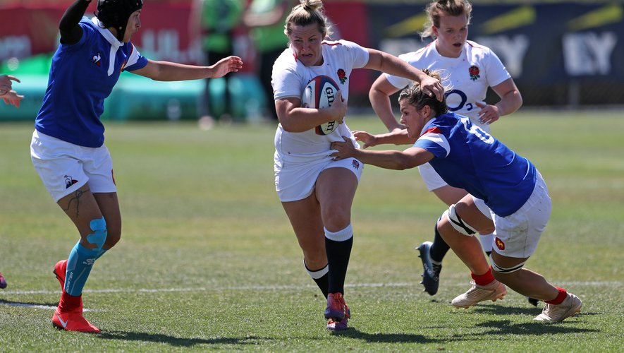2019 Women's Rugby Super Series England Rugby Women Red Roses vs France Rugby WomenPhoto Credit Travis Prior IG rugby_photog_coprior-t.smugmug.com