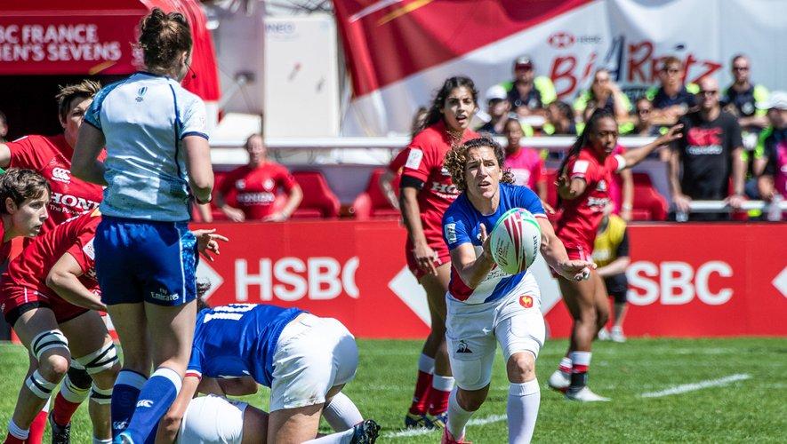 Sevens - Fanny Horta (France) contre le Canada