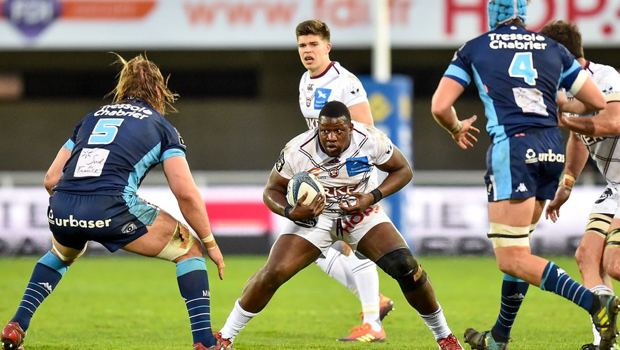 Top 14 - Thierry Paiva (Bordeaux) contre Montpellier