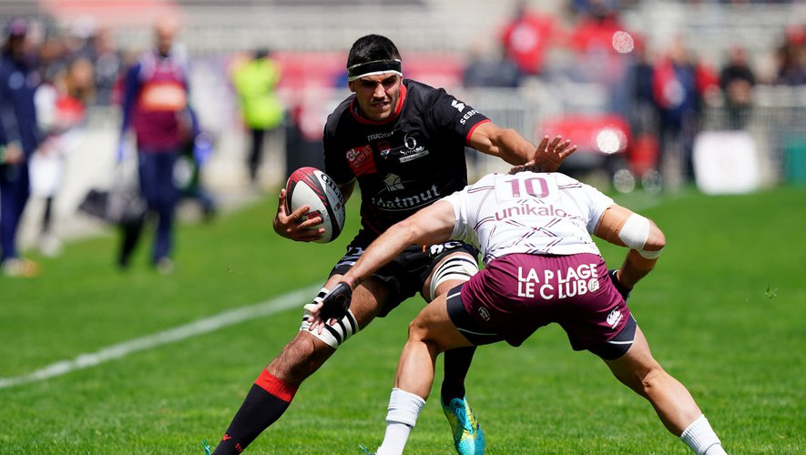Top 14 - Dylan Cretin (Lyon) contre Bordeaux