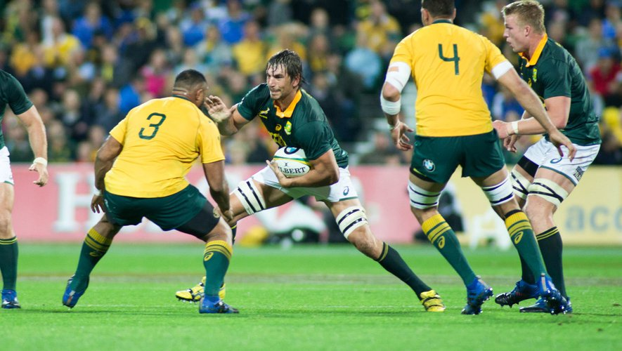 Rugby Championship - Eben Etzebeth (Afrique du Sud) contre l'Australie