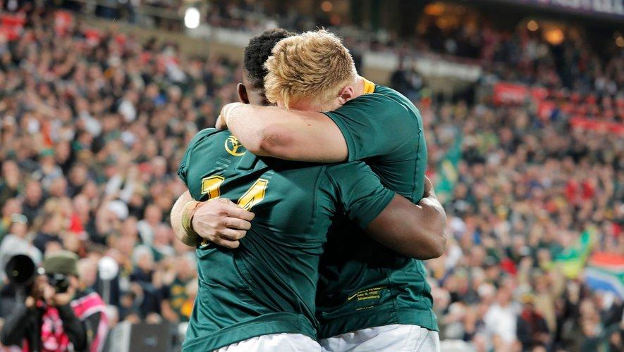 Rugby Championship - Les Sud-Africains débutent la compétition avec le bonus offensif