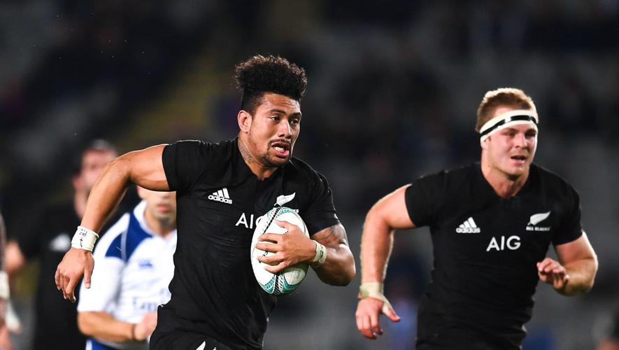 Rugby Championship - Ardie Savea et Sam Cane (Nouvelle-Zélande) contre l'Argentine
