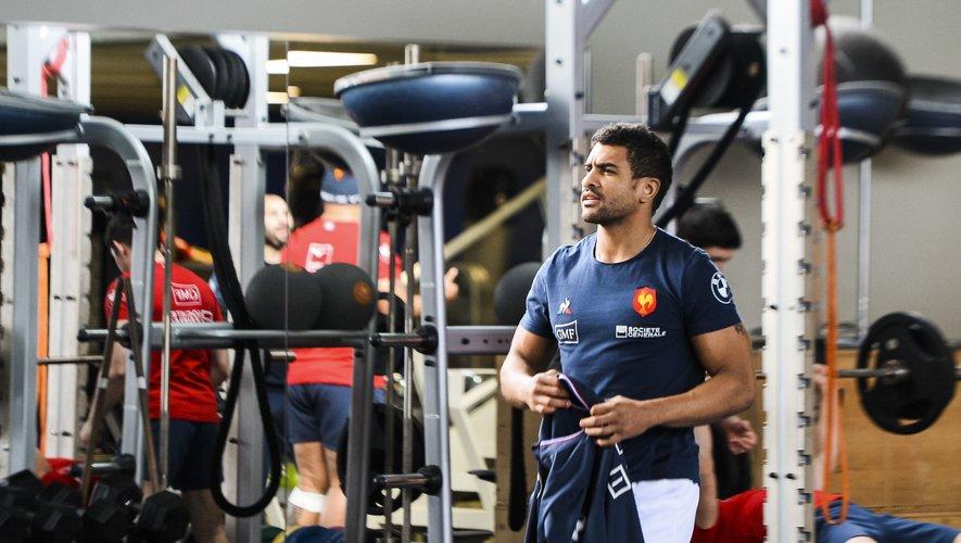 XV de France - Wesley Fofana à l'entraînement avec les Bleus