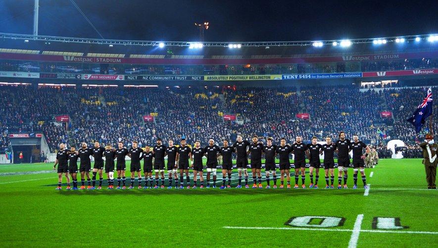 Les All Blacks avant d'affronter l'Afrique du Sud