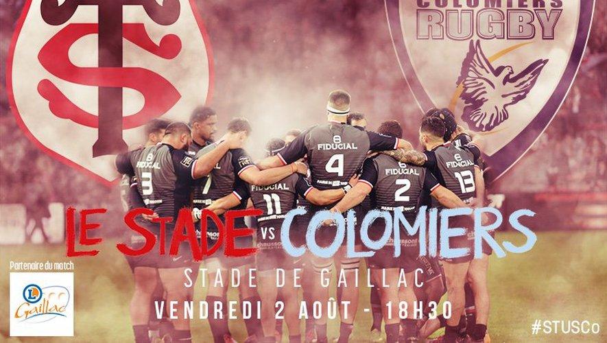 Toulouse - Colomiers ce vendredi 2 août à Gaillac