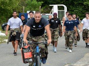 Pro D2 - En milieu de semaine, les Charentais ont effectué un stage commando auprès du 1er Régiment d'infanterie de marine, basé à Angoulême.