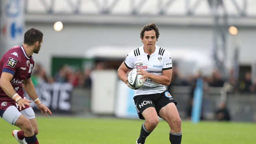 Top 14 2018-2019 - Mathieu Ugalde (Brive) contre Bordeaux
