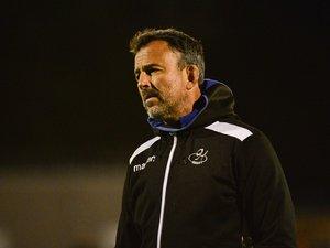 Ici la saison dernière avec Massy en Pro D2, l'entraîneur Benoît Larousse est revenu à Pontault-Combault soutenir le projet de son club formateur.