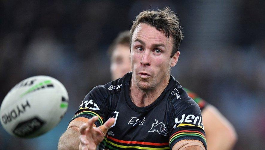 James Maloney évolue actuellement aux Penrith Panthers, après avoir porté les couleurs des Melbourne Storm, NZ Warriors, Sydney Roosters et Cronulla-Sutherland Sharks. Ce sera sa première expérience en Europe.